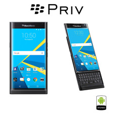 BlackBerry Priv 4G LTE Verizon Unlocked 32GB Black (GSM+CDMA) (U.S. Warranty)