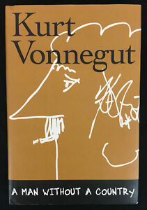 A Man Without a Country by Kurt Vonnegut (2005, Hardcover) Very Good Plus