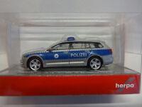 Herpa 929943 VW Volkswagen Passat B8 Variant Polizei Bremen 1:87 Neu