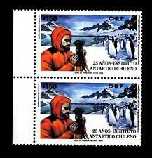 CHILE - CILE - 1989 - 25 anni dell'Istituto Antartico Cileno