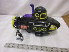 Fisher Price Imaginext The Penguin Sub Submarine large works periscope boat toy