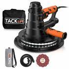 TACKLIFE Handheld Drywall Sander, Automatic Vacuum System & LED Light, 12 Pcs Sa