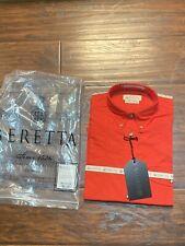 NWT beretta shooting Long Sleeve shirt Red size small