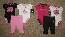 Air Jordan Set Girl's Baby Bodysuit Pants 6-9 Months Jumpman