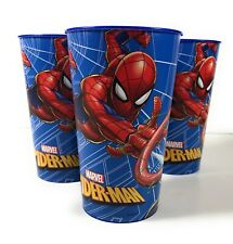 Spider-man 24 oz Plastic Cups Tumblers Party Favors Set of 3 [DR1]