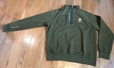 Mens RLX Ralph Lauren 1/2 Zip Pullover Shirt Green Black Expedition Sz XL
