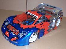 1/8 Mclaren 2 RC Car Body Shell GT Ofna GTP2E Serpent Traxxas Rally 0122/1.5