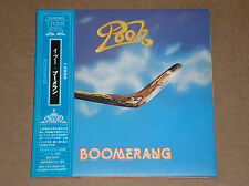 POOH - BOOMERANG - CD JAPAN COME NUOVO (MINT)