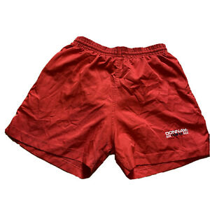 Donnay Shorts With Embroidered Spell Out Retro 90s