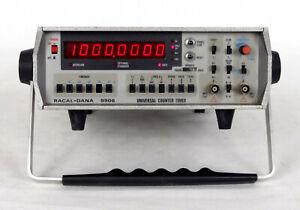 RACAL-DANA 9906 Universal Timer/Counter Testeds - Good Condition