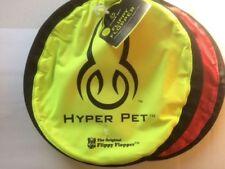 """TWO-PACK Hyper Pet FLIPPY FLOPPER 9"""" Dog Toy Floppy Flyer Soft Bite FREE SHIPPNG"""