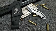 Boker Tactical One Piece  Knife With Sheath Straight Edge Razor Fixed Blade EDC