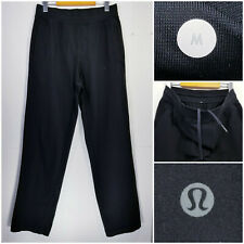 Lululemon Mens Medium Athletic Sweatpants Jogger Pants Black