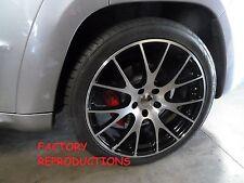 "22"" Staggered Machined Hellcat Style Jeep Grand Cherokee Durango Wheels Rims Set"
