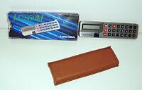 Antike Seltene Taschenrechner Toshiba LC-850M Boxed (11x3cm)