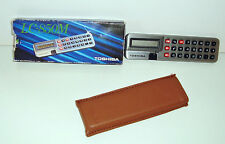 RARE ANCIENNE CALCULATRICE TOSHIBA LC-850M BOXED (11x3cm)