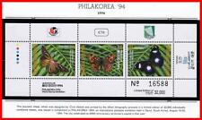 "MARSHALL IS. 1994 STAMP SHOW ""PHILAKOREA"" - BUTTERFLIES S/S mnh INSECTS"