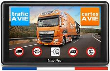 GPS Poids Lourd 7 Pouces Camion Bus Camping Car Europe + Maroc INFO TRAFIC A VIE