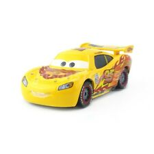 Mattel Disney Pixar Cars Yellow Lightning McQueen Diecast Toy Car 1:55 Loose New