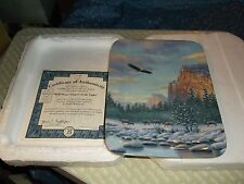 Collector Plate Yosemite: Valley of Light The Domes Lingers in the Light COA