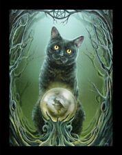 Kleine Leinwand mit Katze - Rise of the Witches - Lisa Parker Fantasy Poster