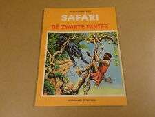 STRIP 1° DRUK / SAFARI N° 14 - DE ZWARTE PANTER