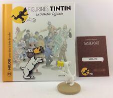 Collection officielle figurine Tintin Moulinsart 19 Milou coincé dans la boîte