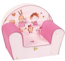 Knorr-baby 490167 Fauteuil enfant Salle de Jeu Rose/fuchsia