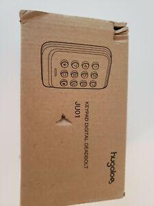 Keyless Entry Door Lock, HUGOLOG Electronic Keypad Deadbolt Lock, Auto-Lock, to