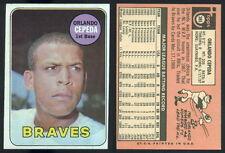 (32150) 1969 Topps 385 Orlando Cepeda Braves-EM