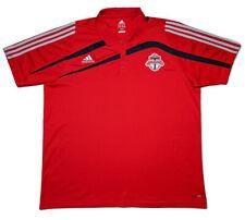 Adidas Toronto FC MLS Soccer Polo Shirt Jersey Red XXL 2XL ~ Perfect!
