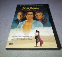 Don Juan DeMarco DVD *RARE