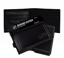 Montreal Canadiens Black Leather Trifold Wallet