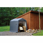 ShelterLogic Sport Shed-in-a-Box Snowmobile/Motorcycle Shed 10ftLx6ftWx6 1/2ftH