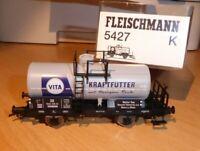 Fleischmann 5427 K Kesselwagen VITA Kraftfutter Neuss am Rhein DB Epoche 3
