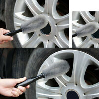Car Wheel Cleaning Brush Tire Washing Clean Tyre Bristle Cleaner Wash Tool New
