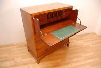 Antique George III Mahogany Chest of Drawers With Secretaire