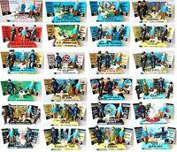 The Adventures Of TINTIN Comic Book ACTION FIGURES on Custom Display Diorama