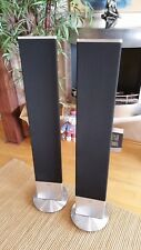 Loewe Individual Sound Stand Speaker SL, Elektrostaten silber chrom