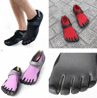 7621 New Women Men's Sports Fingers Toes Shoes Socks Unisex Barefoot Trainers