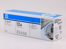 ORIGINALE HP laserjet toner q2612a HP lj1010 CARTRIDGE BLACK 2000 pages