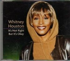 (CF361) Whitney Houston, It's Not Right But It's Okay - 1999 DJ CD