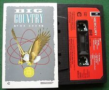 Big Country The Seer inc Remembrance Day Look Away + Cassette Tape - TESTED