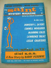 """THE SAINT"" 3/66 FN-VF! CORNELL WOOLRICH, CHARTERIS, SAYERS!"