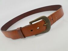 Leather Island Belt Italian Distressed Bill Lavin 3-SL18513 Brown 44