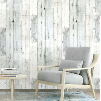 6m Vinyl Rustic Self Adhesive Wood Plank Wallpaper Wall Stickers Peel and Stick