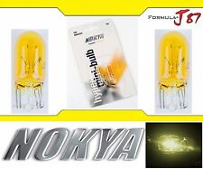 Nokya Light Bulb 194 Yellow 5W Nok5234 License Plate Dome Drive Door Step Mirror
