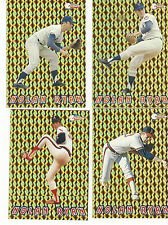 1993 PACIFIC NOLAN RYAN 27th SEASON PRISM-GOLD COMPLETE SET OF 20 GORGEOUS CARDS