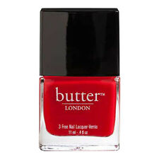 BUTTER LONDON Nail Lacquer 3 Free 11ml **Pillar Box Red** polish NEW!