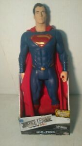 """Big Figs Justice League Super Man 19"""" Action Figure In Box"""